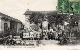 CHEDIGNY-L'école Des Filles - Altri Comuni