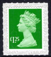2018 £1.25 Machin Unmounted Mint. - Série 'Machin'