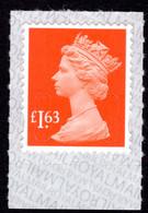 2019 £1.63 Sunset Red U-slits Unmounted Mint. - Série 'Machin'