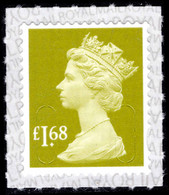2019 £1.68 Tarragon Green U-slits Unmounted Mint. - Série 'Machin'
