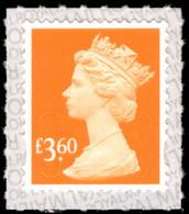 2019 £3.60 Bright Orange U-slits Unmounted Mint. - Série 'Machin'