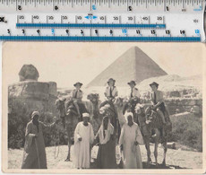 EYGPT - SPHINX - PYRAMIDS - WOMEN SOLDIERS ON CAMELS - 1944 - War 1939-45