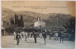 BARGEMON - Hôpital Bénévole 72bis - Vue Sur La Chapelle St Etienne Et Le Col De Brovès - Bargemon