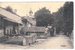 CPA   CARTIGNY   Le Village - GE Genf