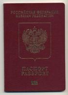 RUSSIA 2009-2014 Passport Passeport Reisepass Pasaporte Passaporto Passaporte Paspoort - Documentos Históricos