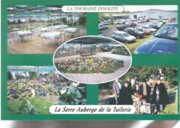 F1 / Advertising Card CARTE CPM Publicitaire PUB Carte De Collection AUBERGE DE LA TUILERIE SAVONNIERES 37 - Hotels & Restaurants