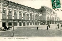 CPA -  LYON - LA GARE DES BROTTEAUX - Otros