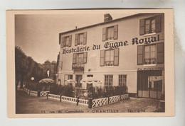 CPSM CHANTILLY (Oise) - Hostellerie Du Cygne Noir 11 Rue Du Connétable - Chantilly