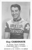CYCLISME: CYCLISTE : GUY CARDINEAU - Ciclismo