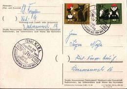 ! Postkarte 30.10.1960 Tag Der Briefmarke , Kiel - Brieven En Documenten