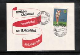 Paraguay 1986 Tennis Boris Becker 19th Birthday Interesting Letter - Tennis