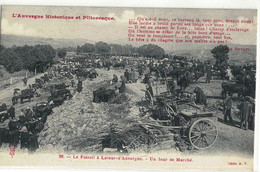 CPA   LATOUR - D'AUVERGNE  Le Foirail  ,un Jour De Marché  N° 26 - Other Municipalities