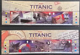 Isle Of Man 2012 MNH - Titanic , Ship - Isle Of Man