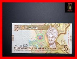 TURKMENISTAN 5 Manat 2009 P. 23  UNC - Turkmenistan