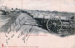 China - Peking - Eroberte Geschütze Aus Peking - Canons Conquis à Pékin - China