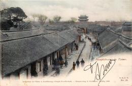 China - Tsimo - Hauptstrasse In Tsimo - Grand Rue De Tsimo - Couleurs - China