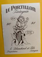 18981 - Le Portillon Tartegnin Pour Ecole Cantonale D'Agriculture Grange Vernay 90-91 - Other