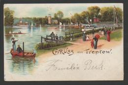 (433) BERLIN : GRUSS AUS TREPTOW - Treptow