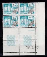 Coin Daté Preo YV 166 N** Du 18.2.80 - Vorausentwertungen