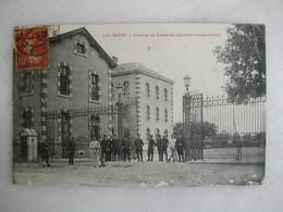 MILITARIA - REIMS - Caserne De Cavalerie - Quartier Jeanne D'Arc (très Animée) - Barracks