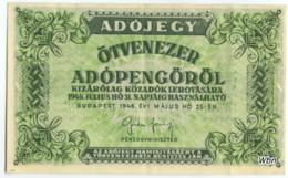 Hongrie 50000 Tax Pengö (P138c) 25 05 1946 -XXF- - Hungary
