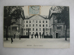 MILITARIA - REIMS - Caserne Colbert (animée) - Barracks