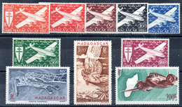 MADAGASCAR - Lot Neufs * - MH - Airmail