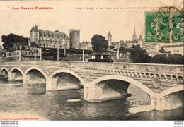 PAU  Le Pont Sur Le Gave Et Le Château D'Henri IV  ..... ( Ref FB286 ) - Pau