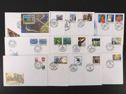 Lettland Kpl. Jahrgang 2002 Ersttagsbriefe/ FDC (O6201 - Lettonie