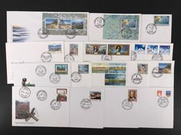 Lettland Kpl. Jahrgang 2001 Ersttagsbriefe/ FDC (LV5 - Lettonie