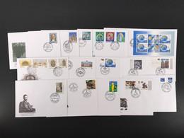 Lettland Kpl. Jahrgang 2000 Ersttagsbriefe/ FDC (LV3 - Lettonie