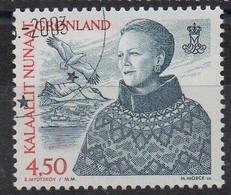 GROENLAND - GREENLAND - 2000 - REINE MARGRETHE II - QUEEN MARGRETHE II - 4.50 - Oblitéré - Used - - Gebraucht
