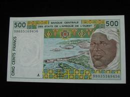 COTE D'IVOIRE -  500 Francs 1996-1997 A - Banque Centrale Des Etats De L'Afrique De L'Ouest  **** EN ACHAT IMMEDIAT **** - Côte D'Ivoire