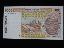 COTE D'IVOIRE - 1000 Francs 1999 A - Banque Centrale Des Etats De L'Afrique De L'Ouest  **** EN ACHAT IMMEDIAT **** - Côte D'Ivoire