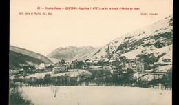 CPA QUEYRAS, Vu De La Route D'Abriès En Hiver - Non Circulée - Otros Municipios