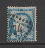 Cérès De 1871 25c Bleu - 1871-1875 Ceres