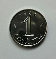 1 Centime - Epi - 1980 - En Achat Immédiat - A. 1 Centime