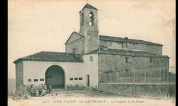 CPA LE CAP FERRAT - La Chapelle Sainte-Hospice - Non Circulée - Animée - Saint-Jean-Cap-Ferrat