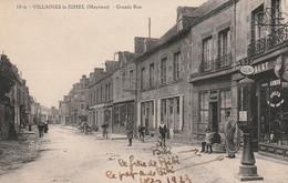 53 Villaines La Juhel ,grande Rue, Pompe Essence - Villaines La Juhel