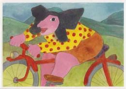 Cpm 1741/688 ERGON - Femme à Bicyclette - Alsacienne - Vélo - Cyclisme - Bicycle - Illustrateur - Peintre - Ergon