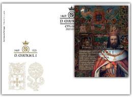 Portugal & FDCB Dom Manuel 1469-1521, The Blissful 2021 (8924) - Sonstige