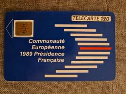 F108 - COMMUNAUTE EUROPEENNE 120 SC4ON - COTE 40E - 1989