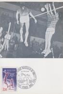Carte  Maximum  1er   Jour   FRANCE   Championnat  Du  Monde  De  VOLLEY - BALL     PARIS   1986 - Pallavolo