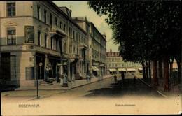 CPA Rosenheim Im Alpenvorland Oberbayern, Bahnhofstraße - Autres