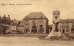9.Bertrix.Monument Et Grand'Place. - Bertrix