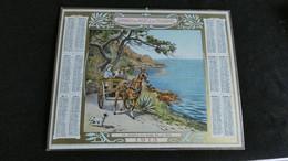 Almanach Des Postes Et Télégraphes 1913 - Le Chemin Du Bord De Mer   -  Bon état Complet - Calendrier - Big : 1901-20