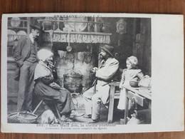 Chez Maie Job,la Vieille Conteuse.coiffes Costumes Bretons.précurseur.édition Hamonic 482 - Bretagne