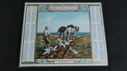 Almanach Des Postes Et Télégraphes 1912 - Labour D' Automne à Bénodet    -  Bon état Complet - Calendrier - Big : 1901-20