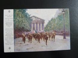 Z33 - Croix Rouge Américaine - 14 Juillet 1918 à Paris D'après Le Tableau De J.F. Bouchor - War 1914-18