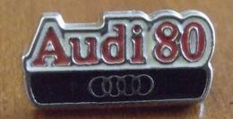 V404 Pin's  AUDI 80 Qualité Zamac Non Signé Achat Immédiat - Audi